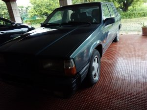 1987 VOLVO 740 TURBO INTERCOOLER