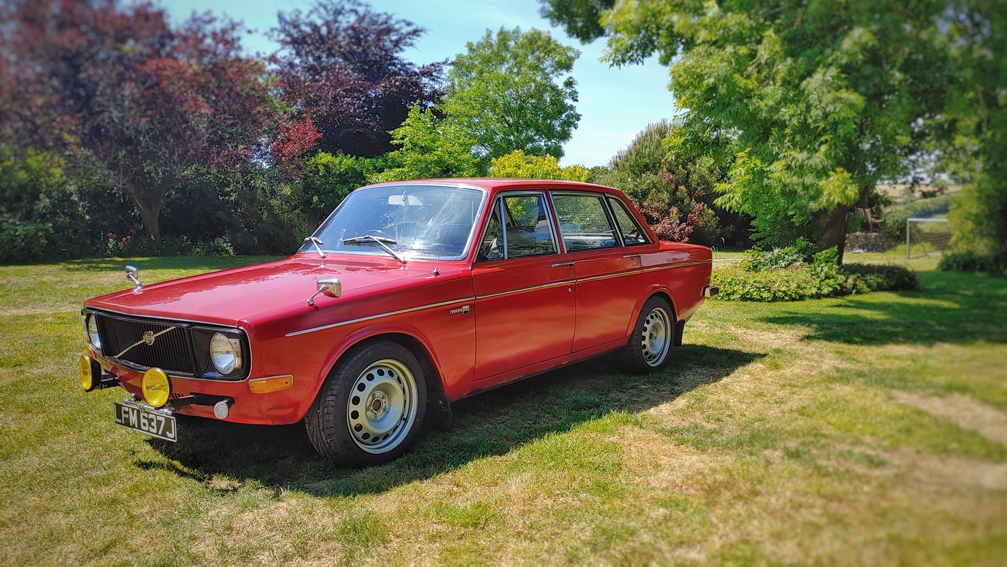 1971 Volvo 144 DeLuxe, Only 54K Miles..... For Sale (picture 2 of 6)