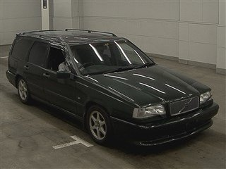 1996 VOLVO 850R ESTATE 2.3 AUTOMATIC MODERN CLASSIC IN RARE OLIVE For Sale (picture 1 of 3)