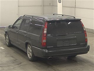 1996 VOLVO 850R ESTATE 2.3 AUTOMATIC MODERN CLASSIC IN RARE OLIVE For Sale (picture 2 of 3)