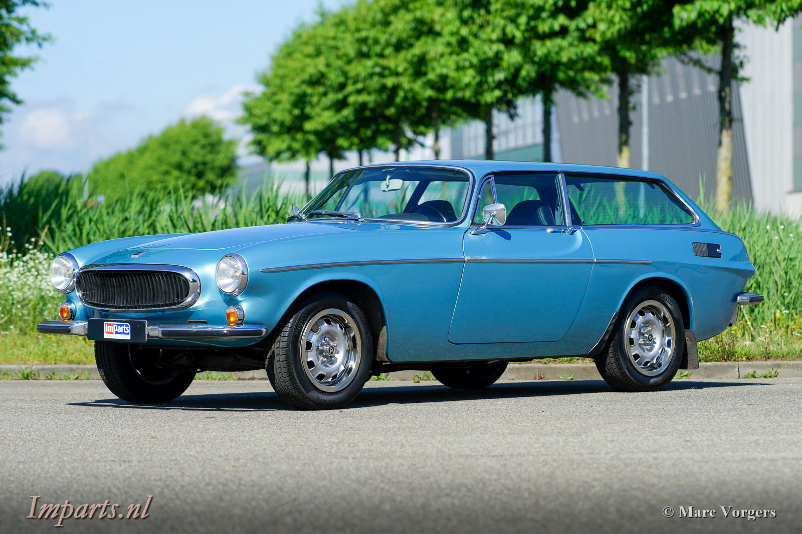 Excellent Classic Volvo P1800ES with Overdrive 1973 (LHD) For Sale (picture 1 of 6)