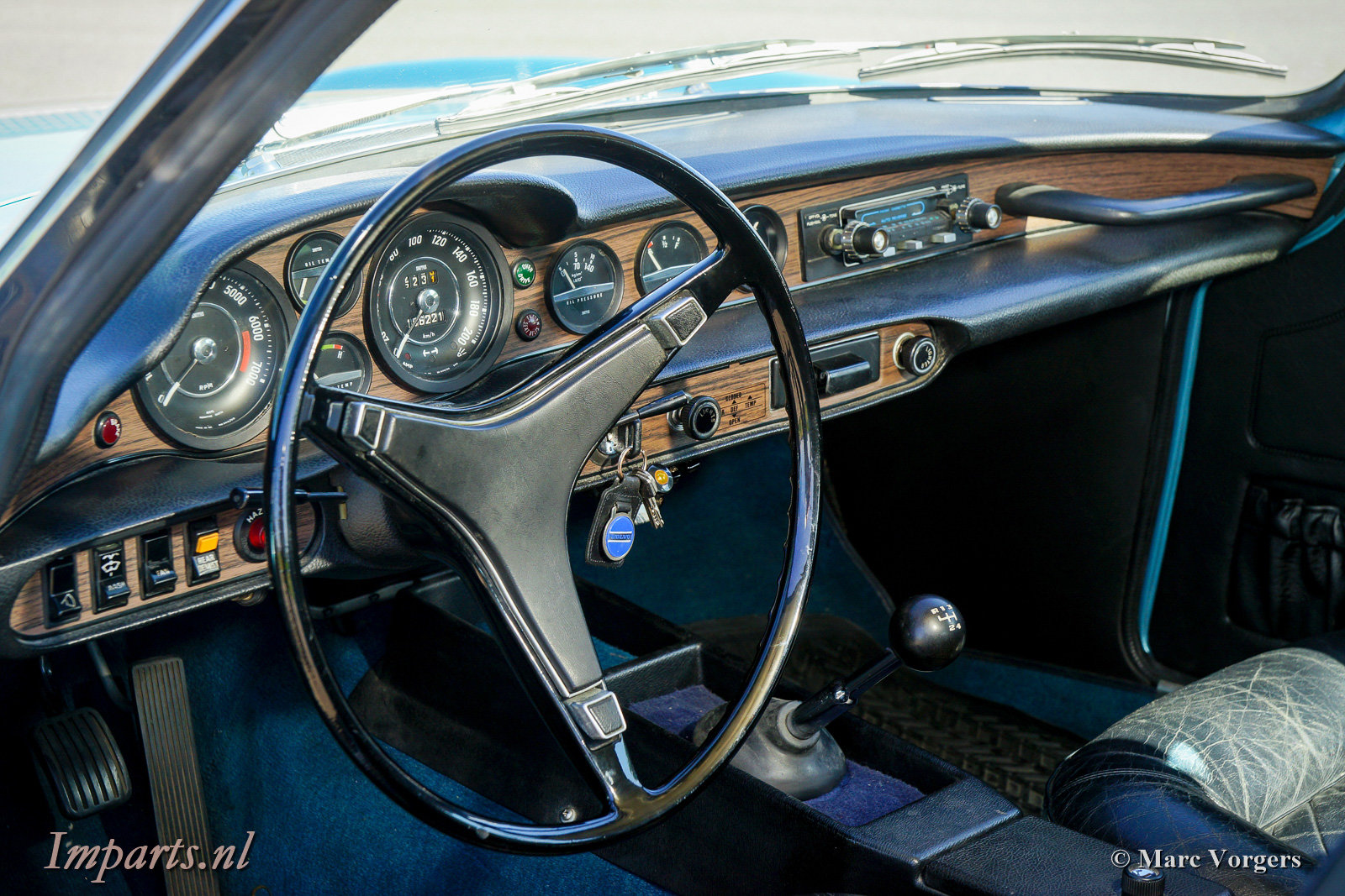 Excellent Classic Volvo P1800ES with Overdrive 1973 (LHD) For Sale (picture 2 of 6)