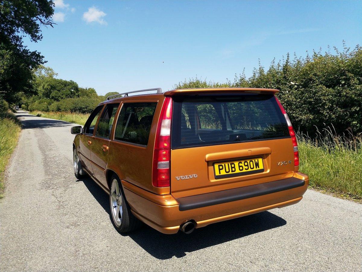 1998 Volvo V70R Manual - Saffron Pearl For Sale (picture 6 of 6)