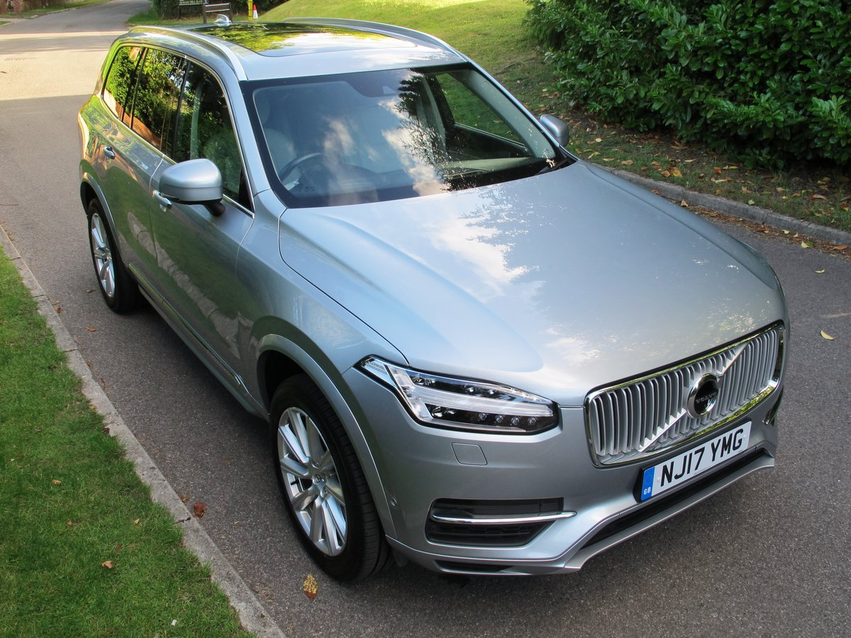 VOLVO XC90 2017 2.0 T8 HYBRID 32K VFSH - ELECTRIC SILVER     For Sale (picture 2 of 6)