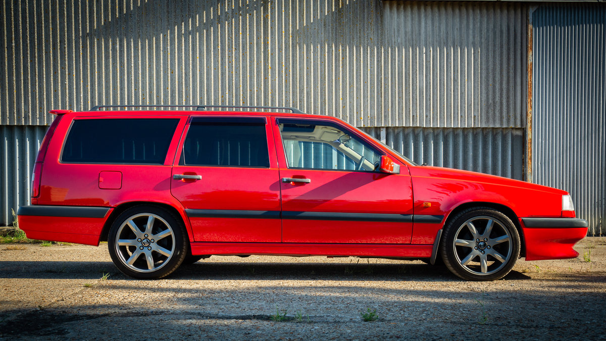 1996 VOLVO 850 R ESTATE LOW MILES STUNNING CONDITION MODERN CLASS For Sale (picture 2 of 6)