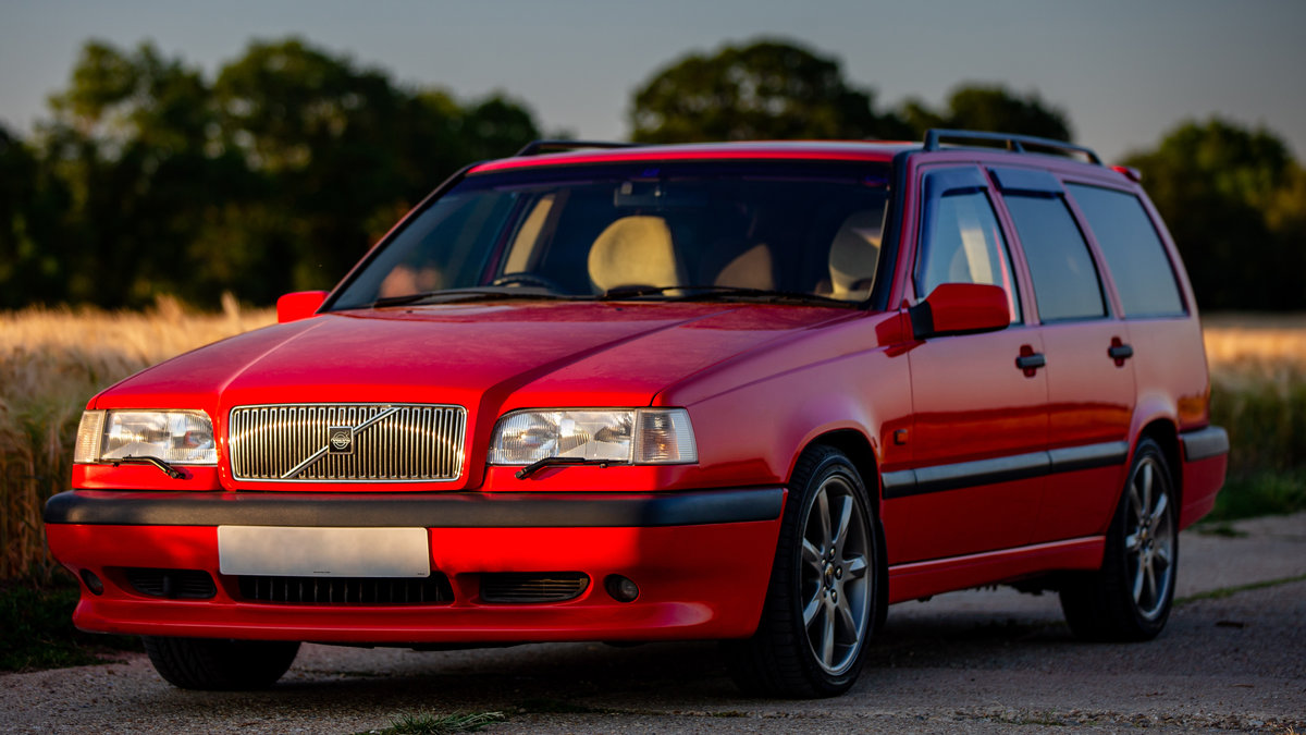 1996 VOLVO 850 R ESTATE LOW MILES STUNNING CONDITION MODERN CLASS For Sale (picture 3 of 6)