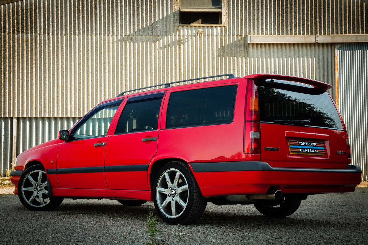 1996 VOLVO 850 R ESTATE LOW MILES STUNNING CONDITION MODERN CLASS For Sale (picture 4 of 6)