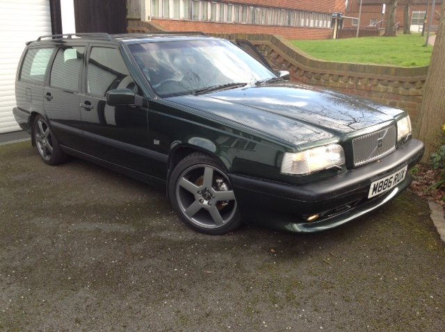 1995 Volvo 850 T5-R GENUINE UK Manual Original not 850R For Sale (picture 1 of 6)