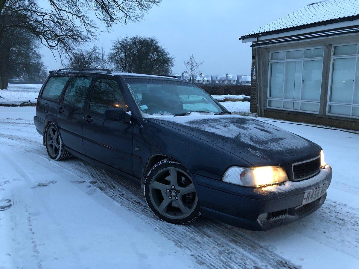 1998 Volvo V70R, Great History, Rare R Model, Auto For Sale (picture 2 of 6)