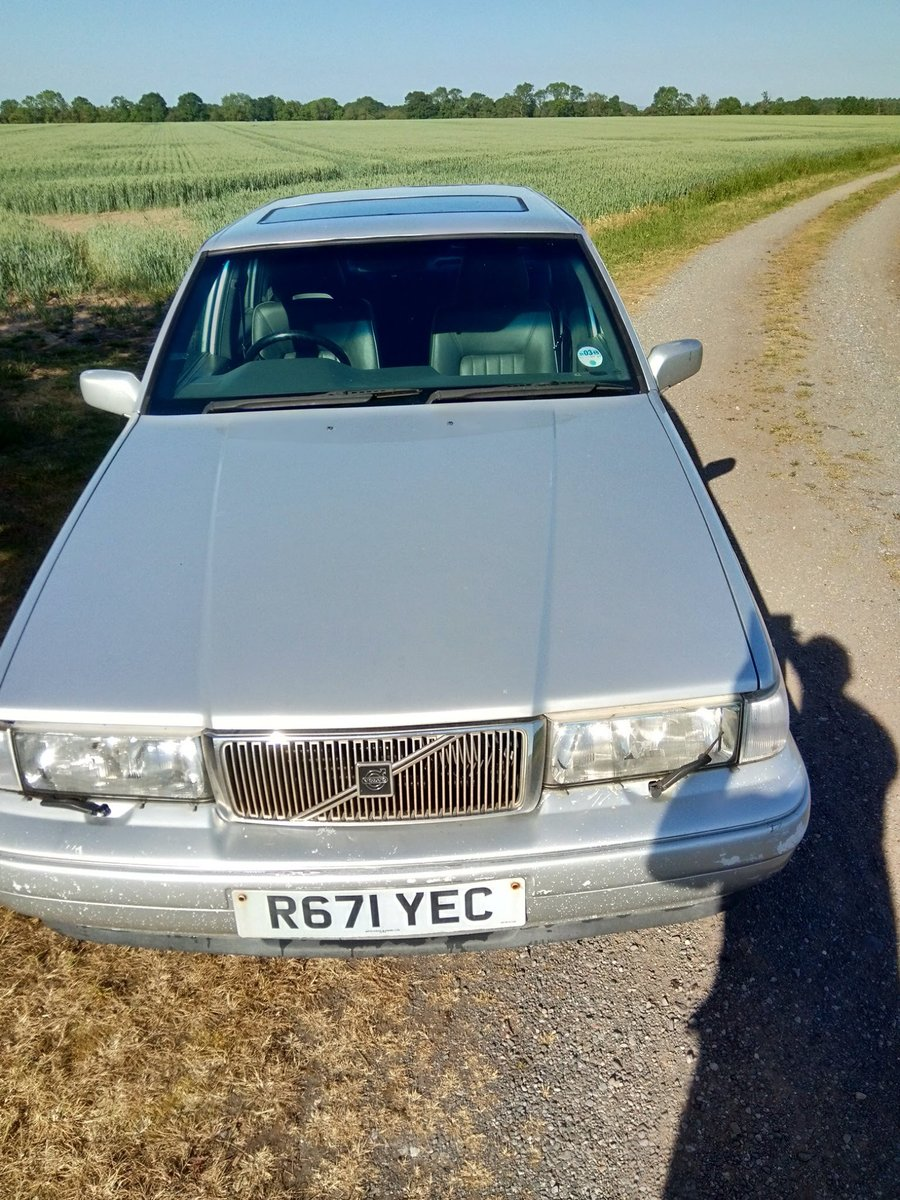 1997 Volvo S90 spares or repair For Sale (picture 1 of 6)