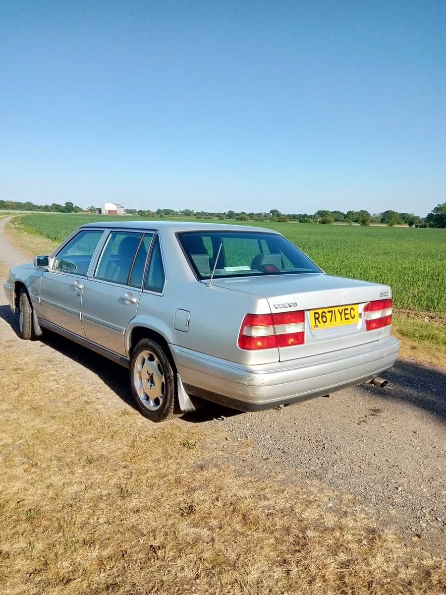 1997 Volvo S90 spares or repair For Sale (picture 3 of 6)