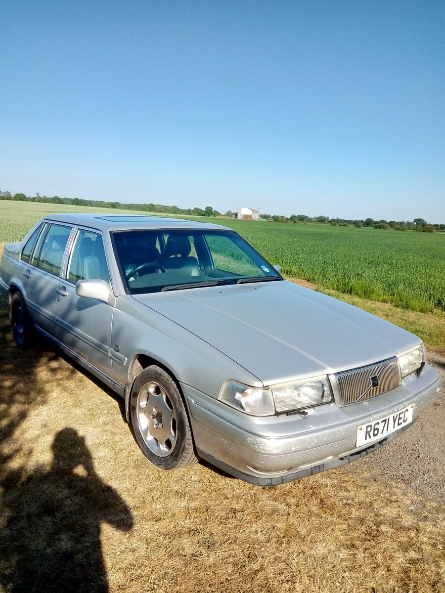 1997 Volvo S90 spares or repair For Sale (picture 4 of 6)