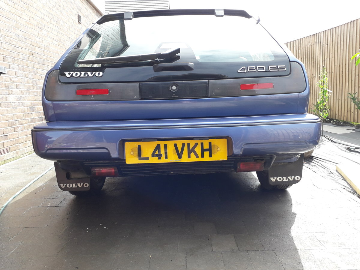 1993 Rare Colour Volvo 480 Excellent History / Great Co SOLD (picture 5 of 6)