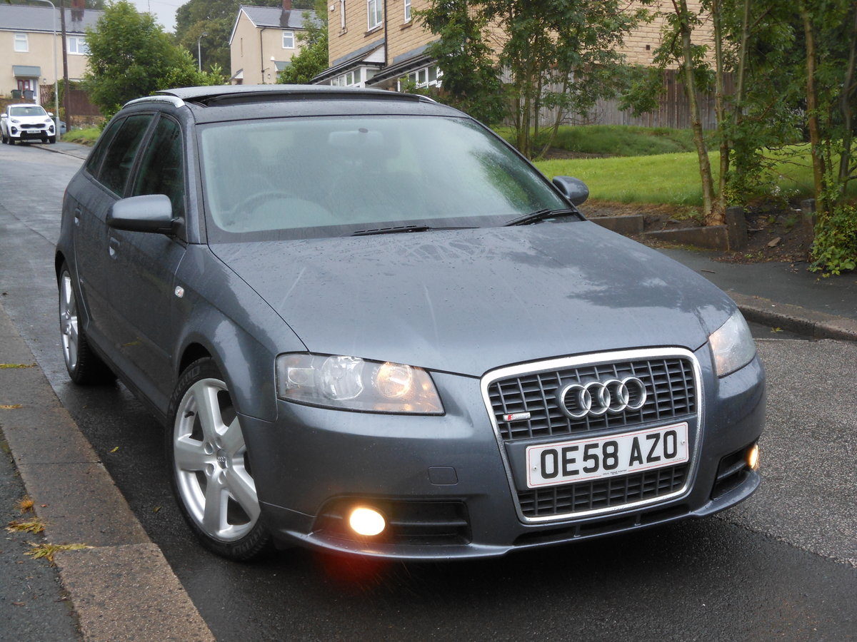 2008 2009 Audi A3 2.0 TDI SportBack S-LINE S-TRONIC 170PS+PANROOF SOLD (picture 1 of 6)
