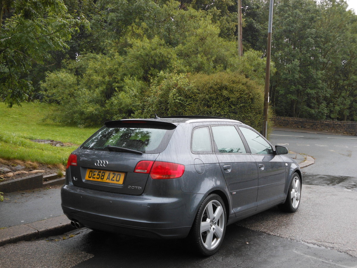 2008 2009 Audi A3 2.0 TDI SportBack S-LINE S-TRONIC 170PS+PANROOF SOLD (picture 2 of 6)