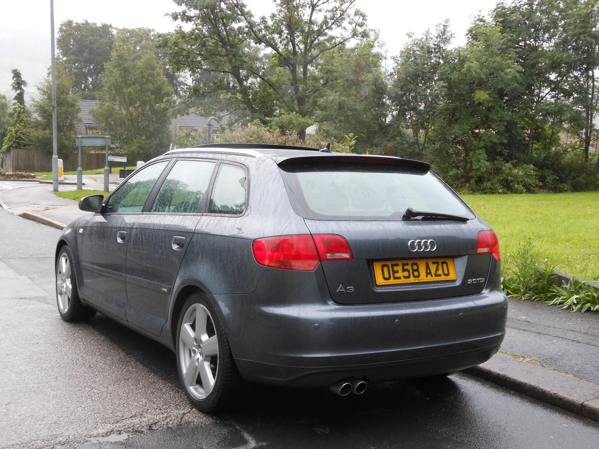 2008 2009 Audi A3 2.0 TDI SportBack S-LINE S-TRONIC 170PS+PANROOF SOLD (picture 3 of 6)