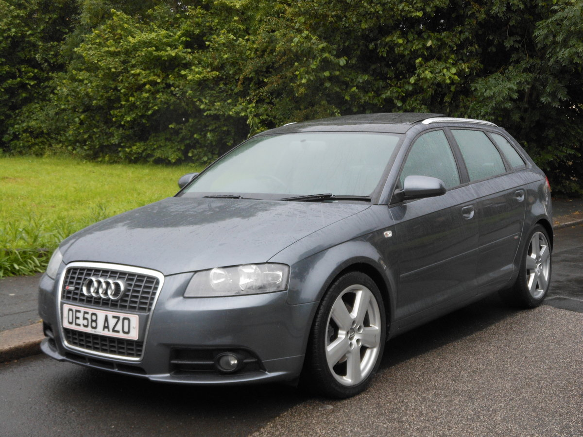 2008 2009 Audi A3 2.0 TDI SportBack S-LINE S-TRONIC 170PS+PANROOF SOLD (picture 4 of 6)