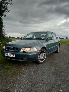 2002 Volvo S40 automatic    Sold