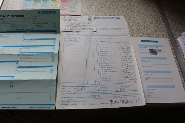 1992 Volvo 440 One owner very low mileage, full history SOLD (picture 6 of 6)