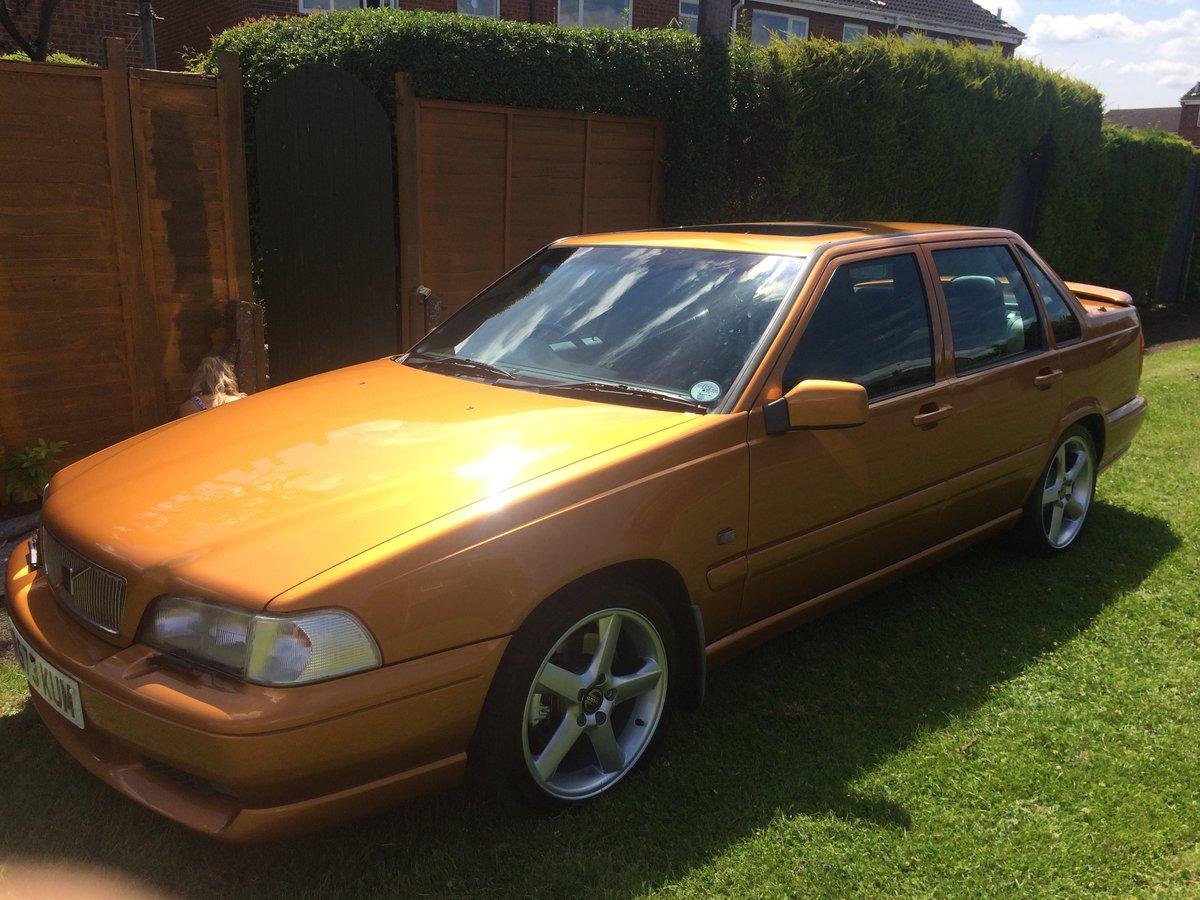 1998 Volvo S70R automatic Saffron low mileage T5 For Sale (picture 1 of 6)