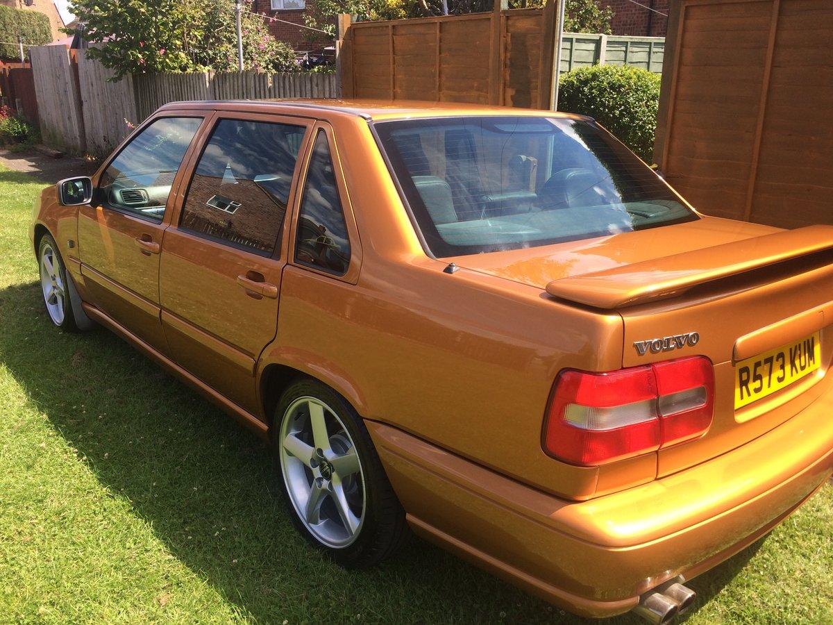 1998 Volvo S70R automatic Saffron low mileage T5 For Sale (picture 3 of 6)
