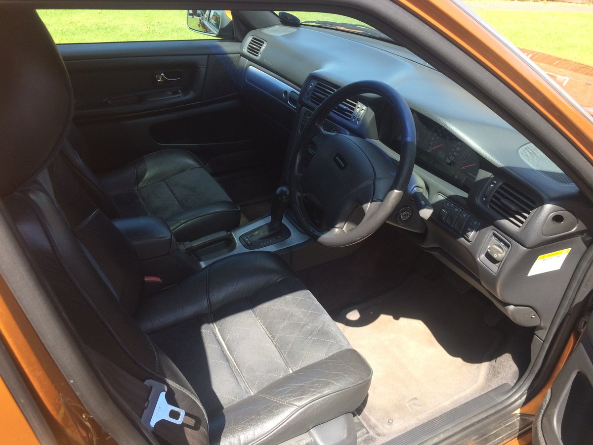 1998 Volvo S70R automatic Saffron low mileage T5 For Sale (picture 4 of 6)