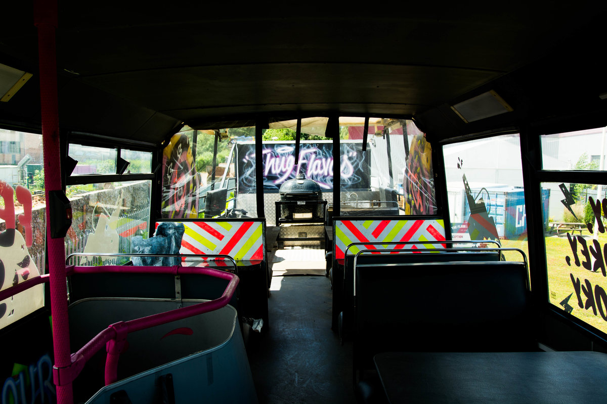 1998 Volvo Olympian Promotional Mobile Catering Bus For Sale (picture 6 of 6)
