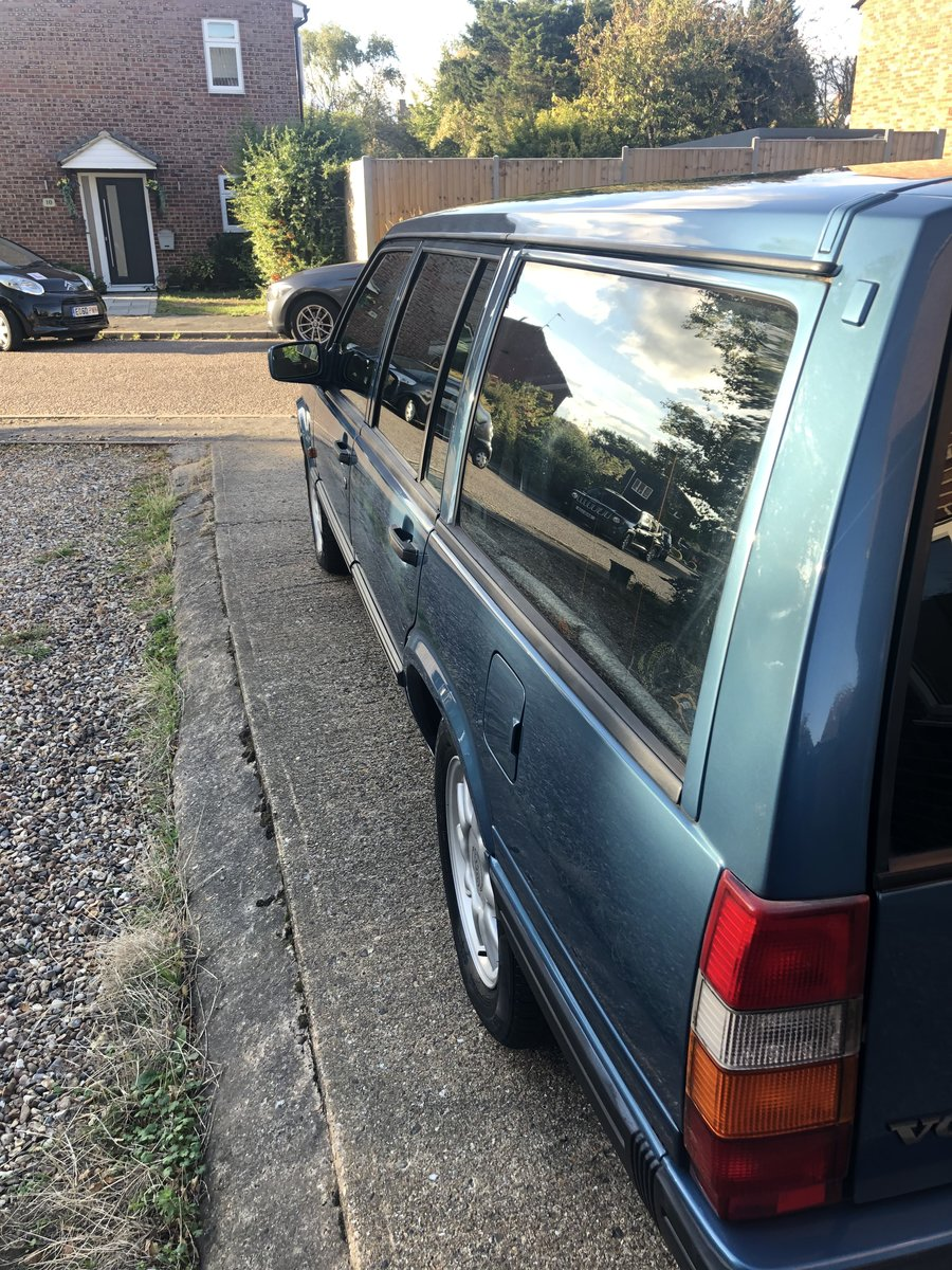 1996 Volvo 940 Estate Classic LPT Manual FSH 78k SOLD (picture 5 of 6)