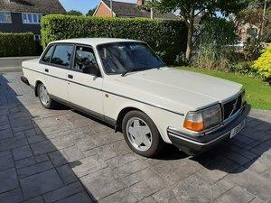 Volvo 240 GL 2.3I manual. £1000s spent. 12M MOT