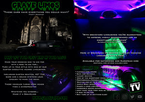 Picture of 1998 Grave Limo Hearse Limousine Wedding Car Hire