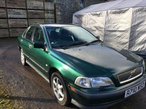 S 40. Volvo Very very low mileage Volvo