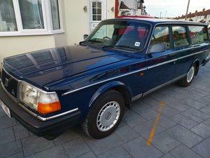 1993 Volvo 240 2.0l Automatic Blue