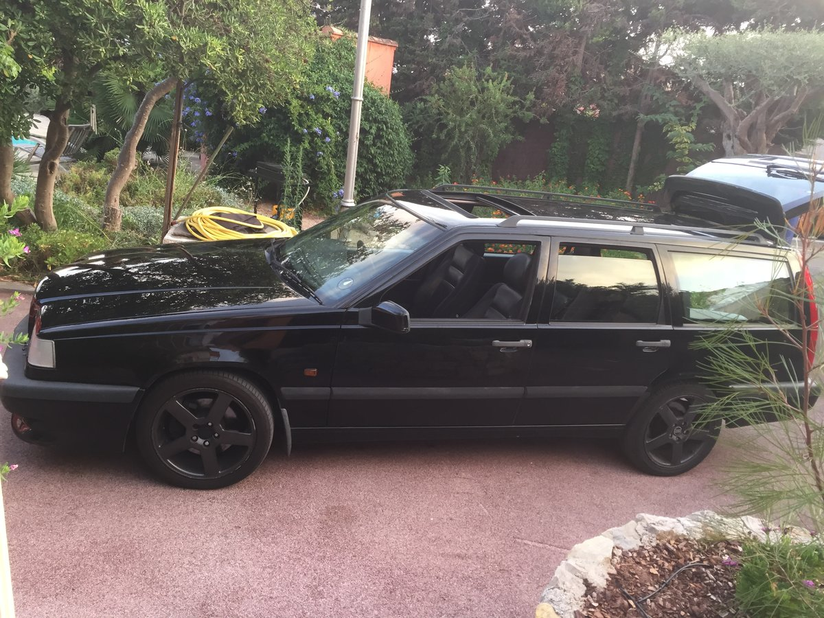 1995 Volvo 855 T5 R Manual UK new 7 seater All original For Sale (picture 3 of 6)