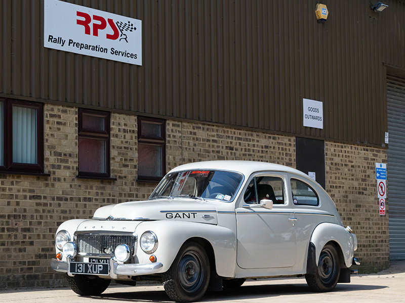 1960 Volvo PV544 Classic Rally Car For Sale (picture 1 of 6)