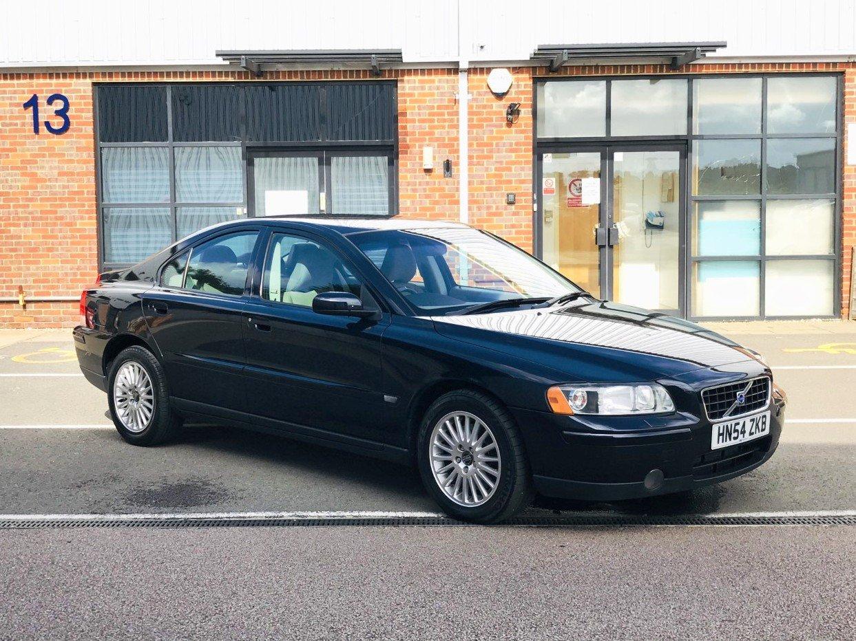 2004 Volvo S60 2.0 T S 4dr Auto FVSH+H/SEATS+CLMTE For Sale (picture 1 of 6)