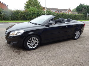 2012 12 REG CONVERTIBLE C70 VOLVO BLACK 82,000 MILES 2LTR DIESEL  For Sale