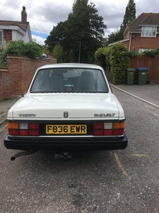 Picture of 1989 Volvo GLT saloon - white - manual NOW SOLD!