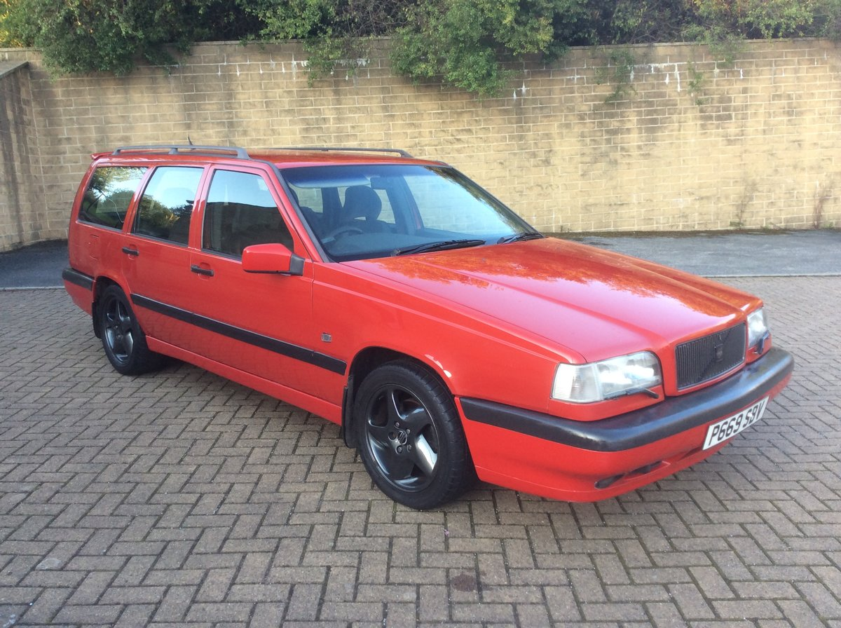 1996 Volvo 850 T5 manual estate  For Sale (picture 1 of 6)