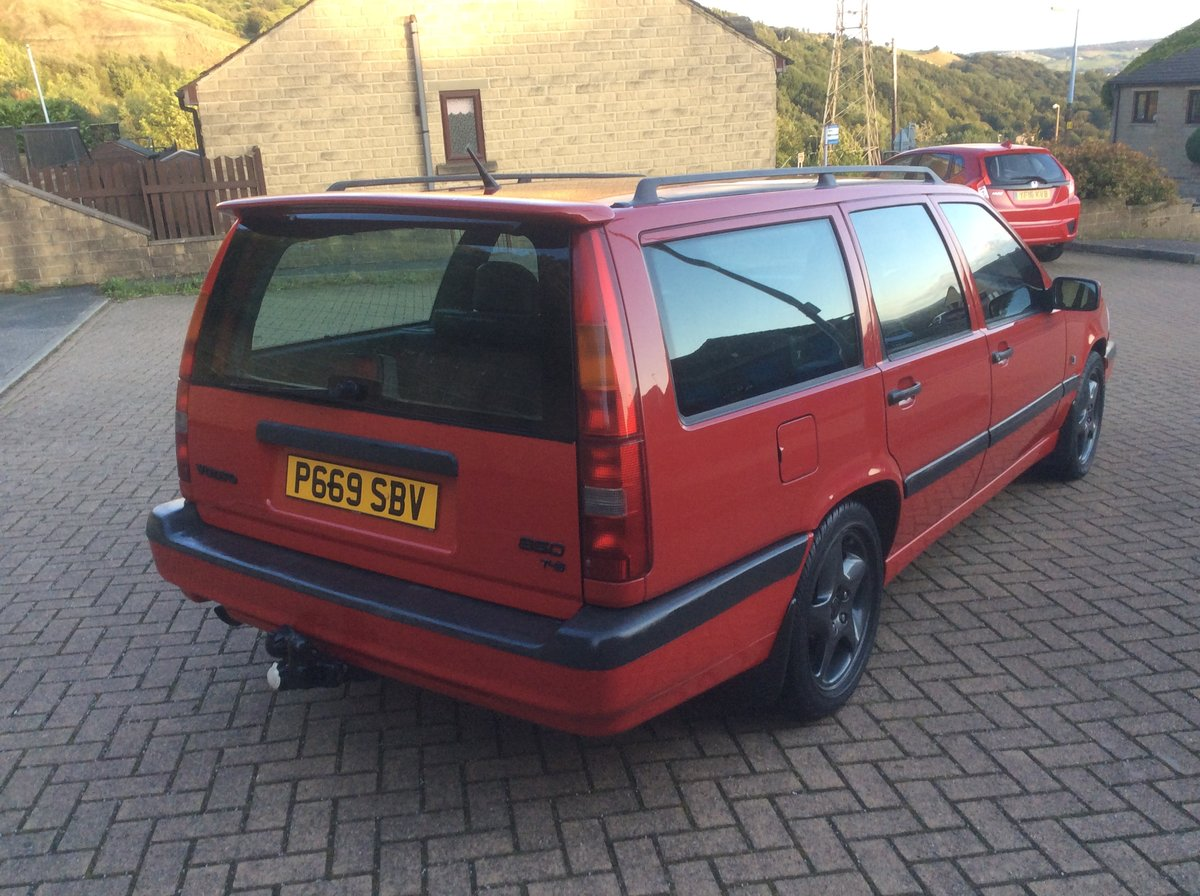 1996 Volvo 850 T5 manual estate  For Sale (picture 4 of 6)