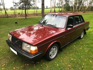 Volvo 240 TURBO in pristine (like new) condition