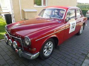 Volvo 122 Sport -65, FIA historic rally car