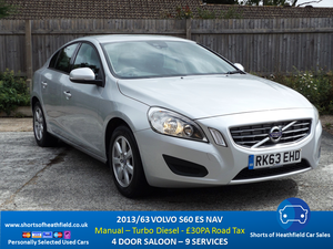 Picture of 2013 /63 Volvo S60 ES Nav - 4 Dr Saloon