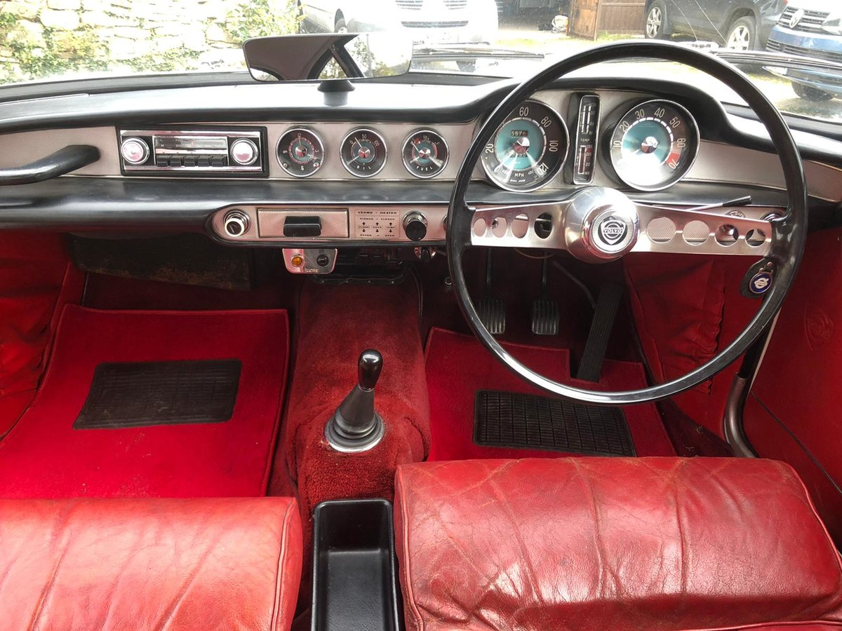 1967 Stunning Volvo P1800S For Sale (picture 3 of 6)