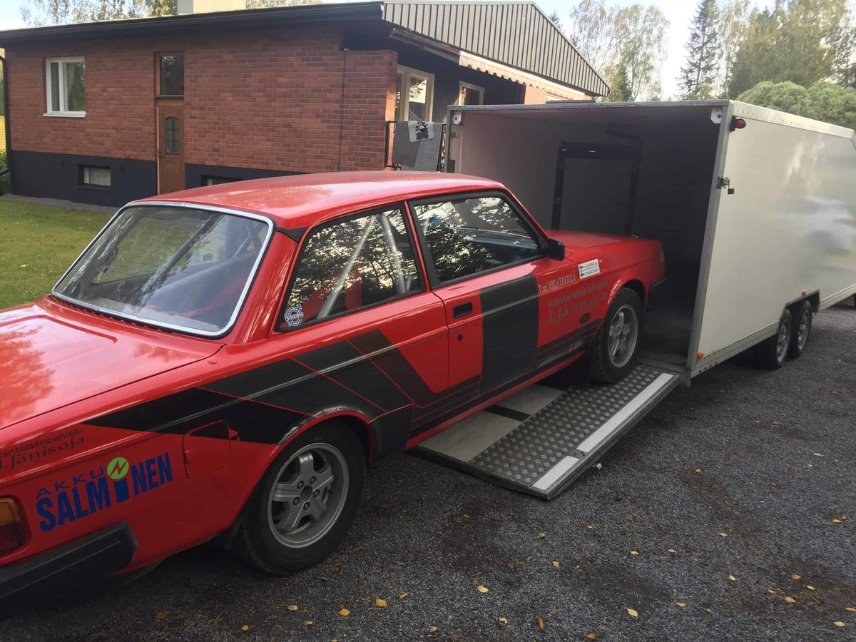 1980 Volvo 240 Historic Rally Car For Sale (picture 6 of 6)