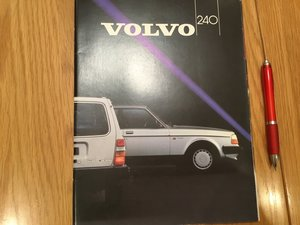 Picture of 1984 Volvo 240 range brochures For Sale