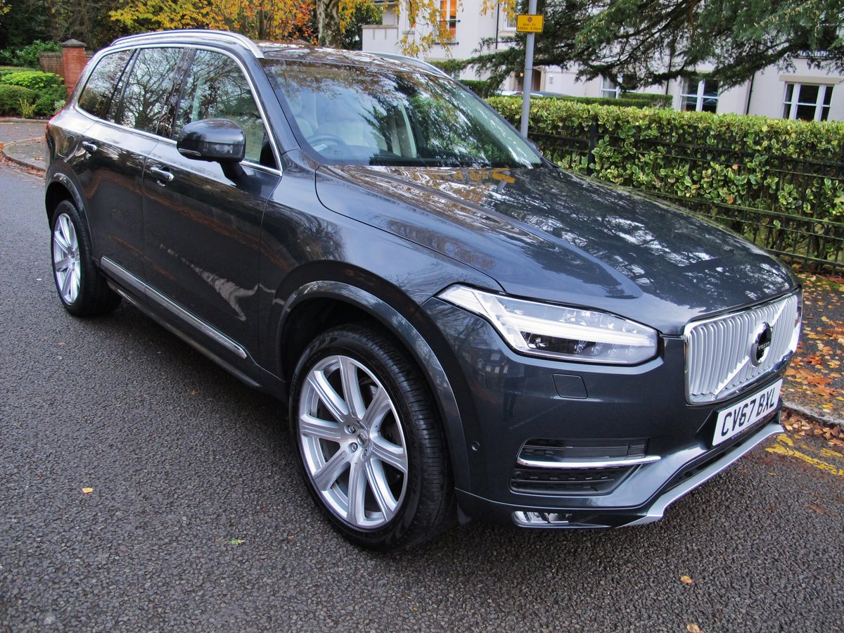VOLVO XC90 2.0 D5 INSCRIPTION PRO 235 AWD 2018MY - NOW SOLD For Sale (picture 1 of 12)
