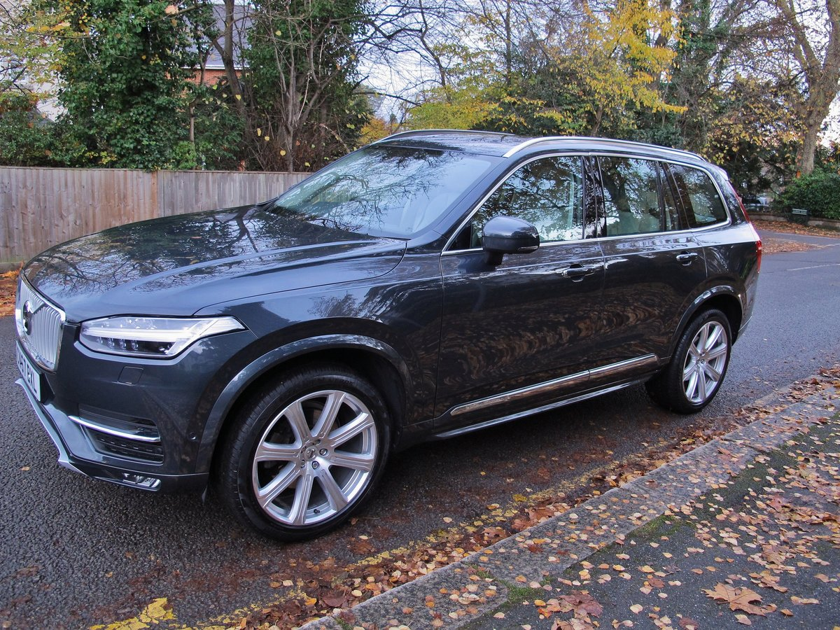 VOLVO XC90 2.0 D5 INSCRIPTION PRO 235 AWD 2018MY - NOW SOLD For Sale (picture 3 of 12)