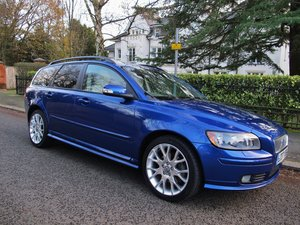 VOLVO V50 2.0 D SE SPORT 1 OWNER+VOLVO 19400 m FSH LEATHER