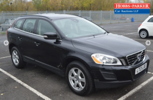 Volvo XC60 SE NAV D5 AWD 106,204 Miles for auction 25th