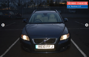 Picture of 2010 Volvo V50 SE LUX D 1088,280 Miles For Sale by Auction